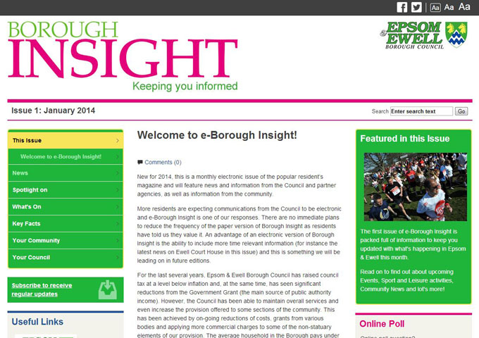 Borough Insight - eMagazine