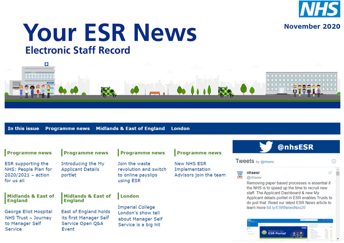 Your ESR News - eMagazine