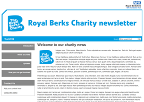 Royal Berkshire NHS Foundation Trust - Charity newsletter