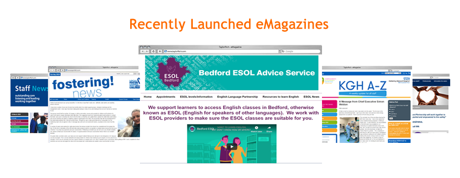 view recently launched emagazine